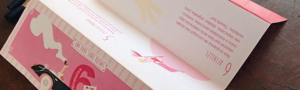 folleto para empresa de organización eventos